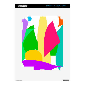 Imagination Dream Animal Child Soft Green iPad 3 Decal