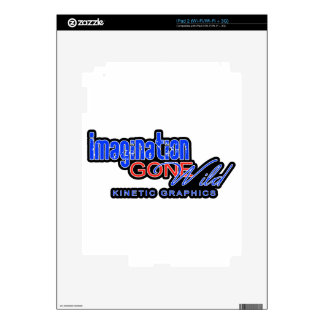 IMAGINATION GONE WILD PRODUCTS iPad 2 DECAL