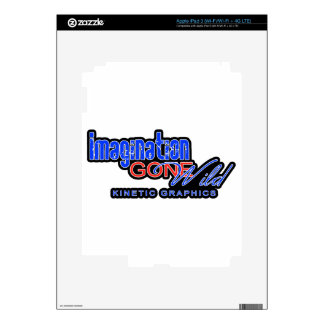 IMAGINATION GONE WILD PRODUCTS iPad 3 DECALS