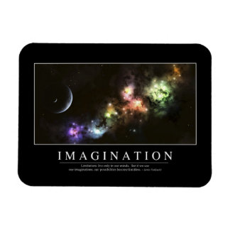 Imagination: Inspirational Quote Magnets