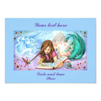 Imagination 5x7 Paper Invitation Card