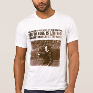 Imagination is more important than knowledge shirt