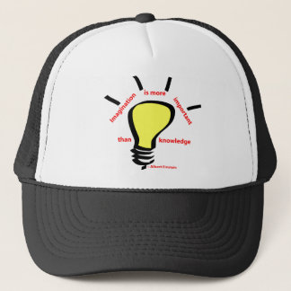Imagination is More Important Trucker Hat