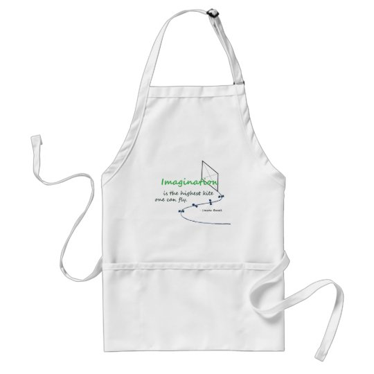 """""""Imagination is the Highest Kite"""" Adult Apron"""