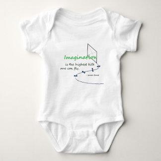 """Imagination is the Highest Kite"" Baby Bodysuit"