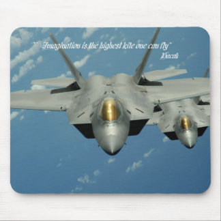 Imagination is the highest kite one can fly mouse pads