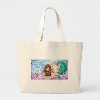 Imagination Large Tote Bag