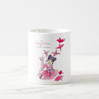 Imagination Classic White Coffee Mug
