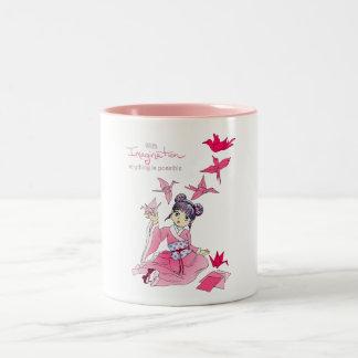 Imagination Two-Tone Coffee Mug