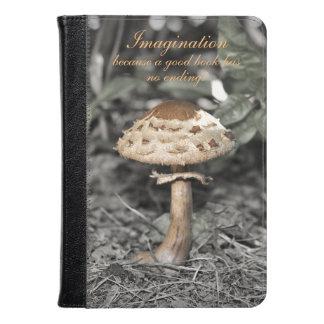 Imagination Mushroom in Forest Kindle Case