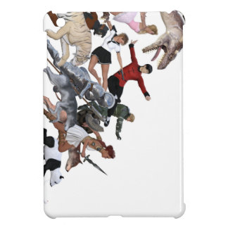 Imagination of a Child with Her Army of Friends Cover For The iPad Mini