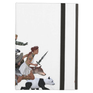 Imagination of a Child with Her Army of Friends iPad Air Case