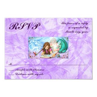 Imagination RSVP 3.5x5 Paper Invitation Card