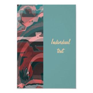 Imagination run riot 3.5x5 paper invitation card
