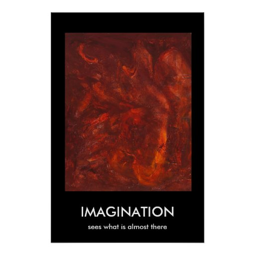 IMAGINATION, sees what is almost there Poster