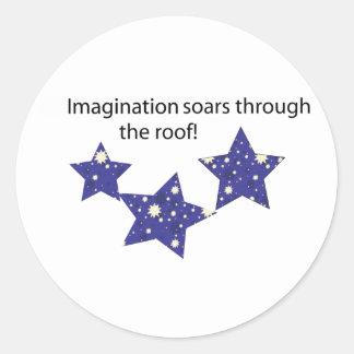 Imagination Soars Sticker