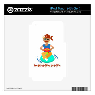 Imagination Station iPod Touch 4G Decal
