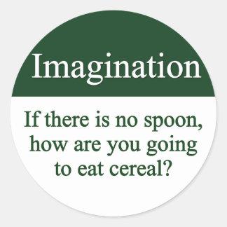 Imagination Sticker
