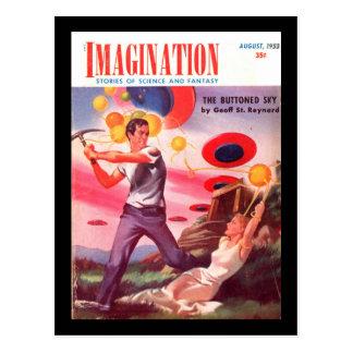 Imagination v04 n07 (1953-08.Greenleaf)_Pulp Art Postcard