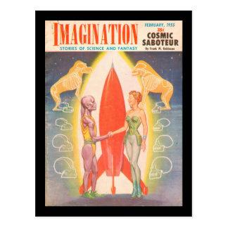 Imagination v06 n02 (1955-02.Greenleaf)_Pulp Art Postcard