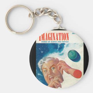 Imagination _ Vol. 04 Nr. 01_Pulp Art Basic Round Button Keychain
