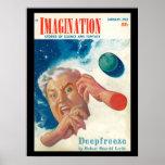 Imagination _ Vol. 04 Nr. 01_Pulp Art Poster