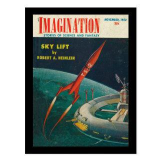 Imagination _ Vol. 04 Nr. 10_Pulp Art Postcard