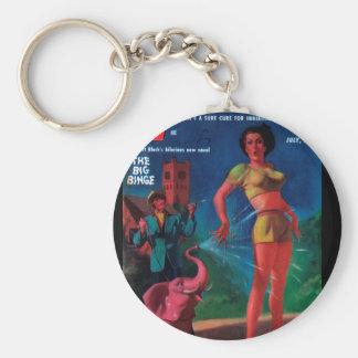 Imaginative Tales - 1955.7_Pulp Art Keychain