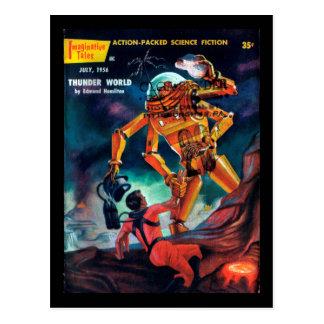 Imaginative Tales - 1956.7_Pulp Art Postcard