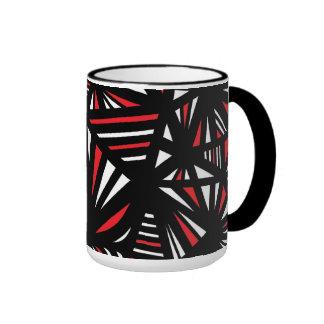 Imaginativo divertido del placer natural taza de dos colores