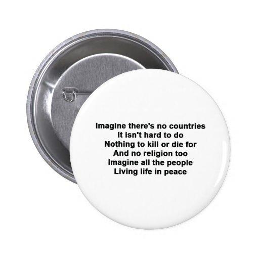 Imagine 2 Inch Round Button