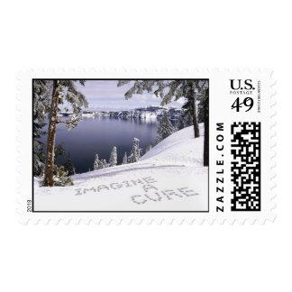 Imagine a Cure Stamp