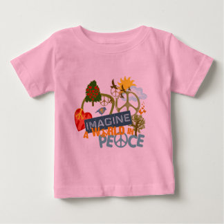 Imagine a World in Peace Baby T-Shirt