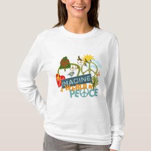 Imagine a World in Peace T-Shirt
