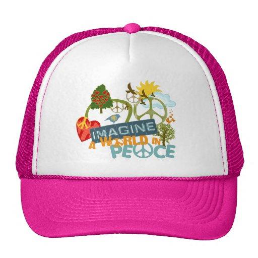 Imagine a World in Peace Trucker Hat