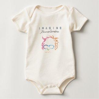Imagine Bernie Sanders Baby Bodysuit