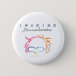 Imagine Bernie Sanders Pinback Button