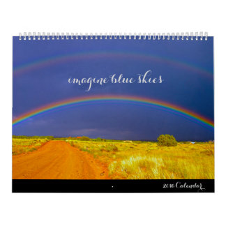 Imagine Blue Skies 2016 Calendar