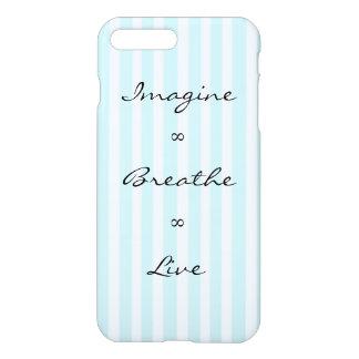 Imagine, Breathe, Live iPhone 8 Plus/7 Plus Case