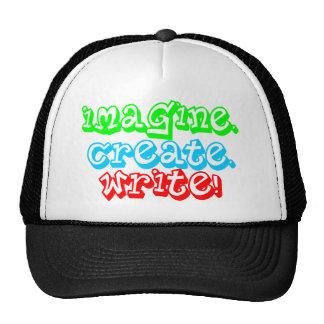 Imagine! Create! Write! Trucker Hat