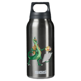 """Imagine"" Dragon Painter Insulated Water Bottle"