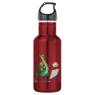 """Imagine"" Dragon Painter Water Bottle"