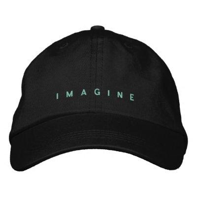 Imagine embroidered hat baseball cap