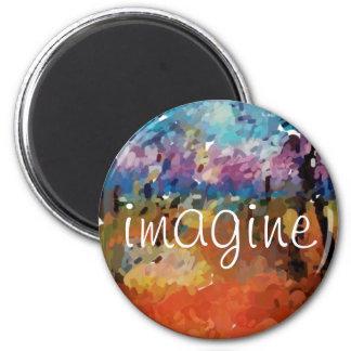 Imagine Finger Oil Refrigerator Magnets