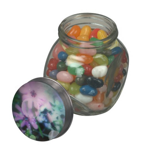 Imagine floral  jellybean jars and tins jelly belly candy jar