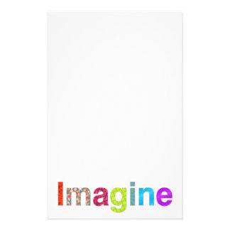 Imagine fun colorful inspiration gift stationery