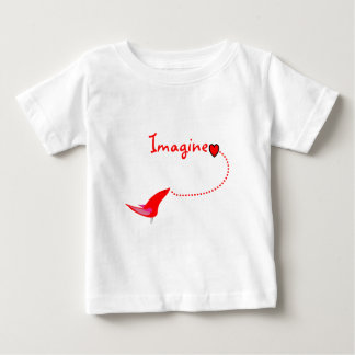 """Imagine""---John Gifts Baby T-Shirt"