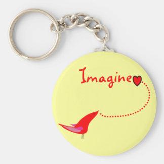 """""""Imagine""""---John Gifts Keychain"""