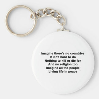 Imagine Keychain