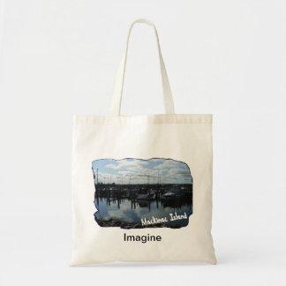 Imagine Mackinac Island Tote Bag
